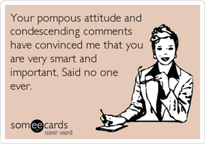 Pompous