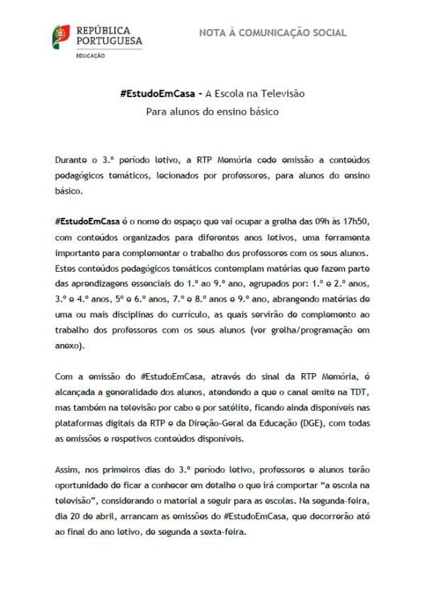 Nota EstudoemCasa