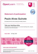 Certificado Teaching